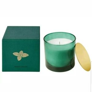 NWT IKEA NJUTNING scented Candle Minty Leaf